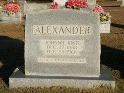Johnnie <i>King</i> Alexander