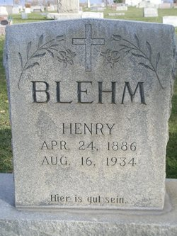 Henry Blehm, SR.