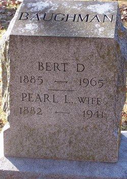 Albert D. Bert Baughman