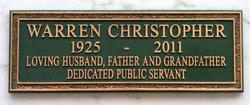 Warren Minor Christopher