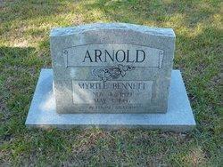 Myrtle <i>Bennett</i> Arnold
