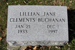 Lillian J <i>Clements</i> Buchanan