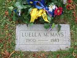 Luella Margie <i>McCleary</i> Mays