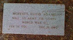 Moffatt David Adams, Sr