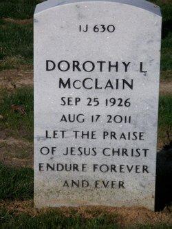 Dorothy Lee <i>Scarborough</i> McClain