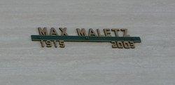 Max Maletz