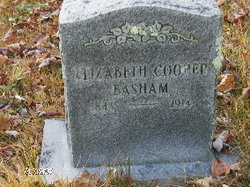 Elizabeth Bettie <i>Cooper</i> Basham