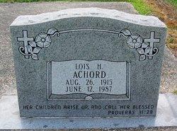 Lois H Achord