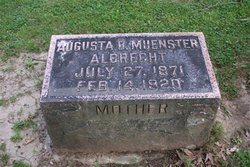 Augusta <i>Muenster</i> Albrecht