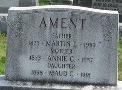 Annie <i>Clement</i> Ament