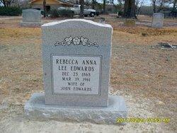 Rebecca Anna Becky <i>Lee</i> Edwards