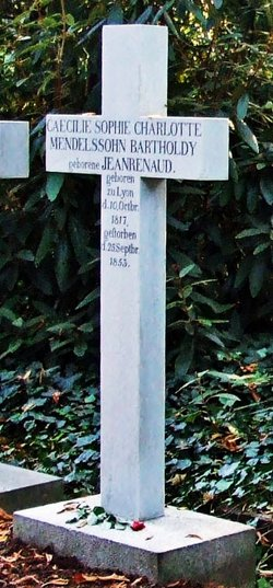 C�cile <i>Jeanrenaud</i> Mendelssohn Bartholdy