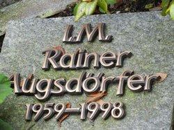 I M Rainer Augsd�rfer