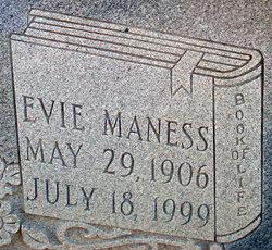 Eva Evie <i>Maness</i> Asbill