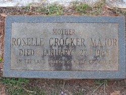 Marian Roselle <i>Crocker</i> Major