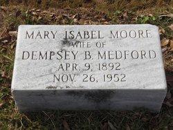 Mary Isabel Mabel <i>Moore</i> Medford