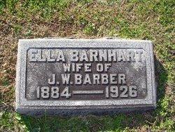 Ella <i>Barnhart</i> Barber