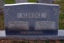 Luetta <i>Carroll</i> Aldridge