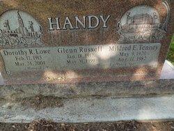 Dorothy R <i>Lowe</i> Handy