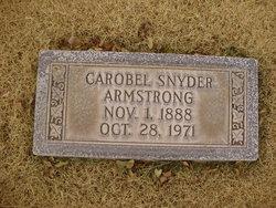Carobel <i>Snyder</i> Armstrong