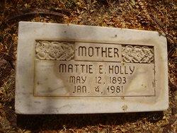 Mattie Elizabeth <i>Parrack</i> Holly