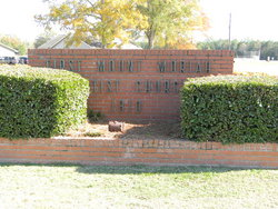 First Mount Moriah Baptist Church Cemetery