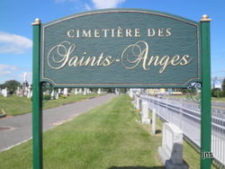 Cimetiere des Saints Anges de Sorel