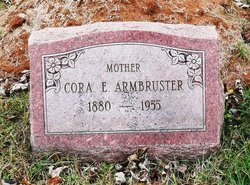 Cora Elizabeth <i>Arnett</i> Armbruster