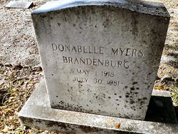 Donabelle <i>Myers</i> Brandenburg