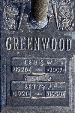 Lewis W Greenwood