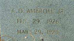 Andrew David Ambrose, Jr