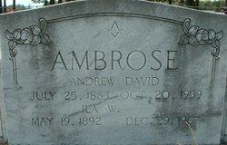 Andrew David Ambrose, Sr