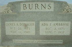Ada Talulah <i>Ambrose</i> Burns