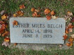 Esther <i>Miles</i> Belch