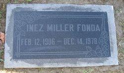 Inez Miller <i>Miller</i> Fonda