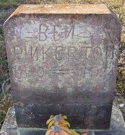 Benjamin Franklin Pinkerton