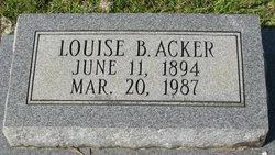 Louise <i>Boatright</i> Acker