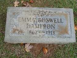 Emma Selester <i>Boswell</i> Dameron