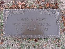 David E. Hunt