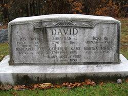 Margaret <i>John</i> David