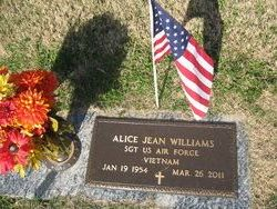 Alice Jean Jeannie <i>Curtis</i> Williams