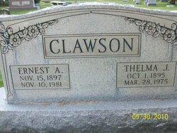 Thelma Cynthia <i>Johnson</i> Clawson