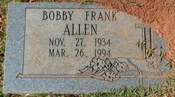 Bobby Frank Allen