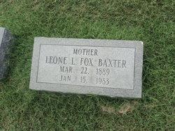 Leone L <i>Fox</i> Baxter