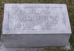 Francis W. <i>Logsdon</i> Anderson