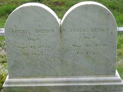 Abigail <i>Sturtevant</i> Brown