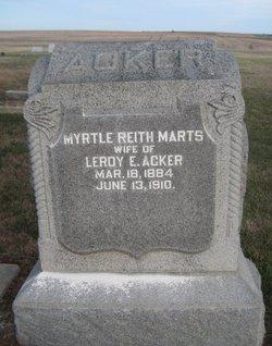 Myrtle Reith <i>Marts</i> Acker