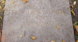 Effie <i>Philips</i> Ashurst