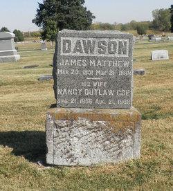 Nancy Catherine <i>Outlaw</i> Dawson
