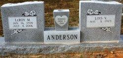 LeRoy M Anderson